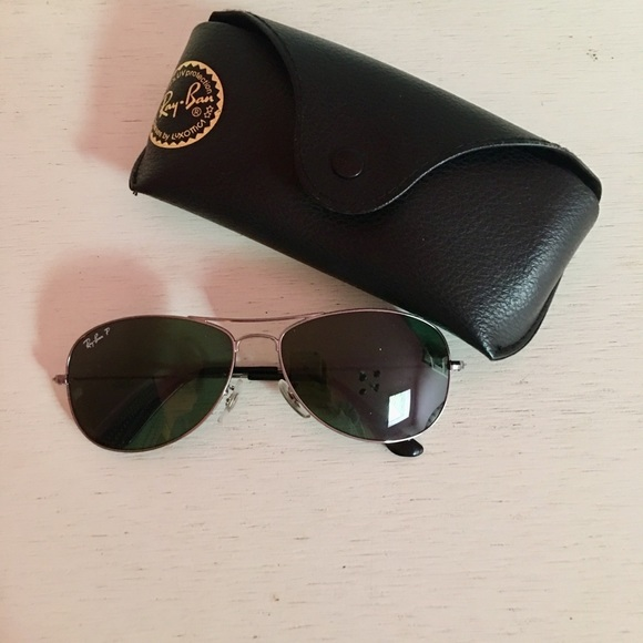 Ray-Ban Accessories - Polarized Cockpit Ray-Ban Aviators in Gunmetal